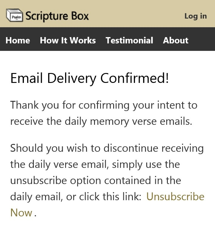 Email Delivery step 4
